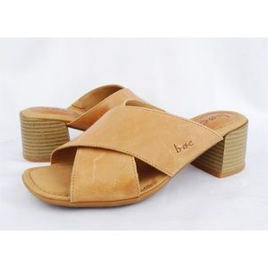 Born B.O.C Leather Casual Comfort Slides Sandals